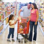 Deutsch B1 Sprechen - Bild beschreiben- Familie beim Einkauf im Supermarkt